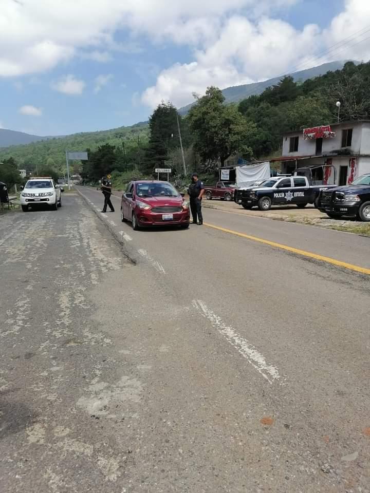 SSPE realiza operativo interinstitucional en los límites del municipio de Xilitla con el Estado de Querétaro